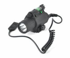 Подствольный фонарь с ЛЦУ (зеленый) с винтом (P24-0307)