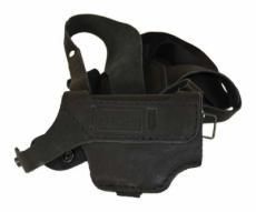 Кобура оперативная для Beretta 84, черная (нат. кожа)