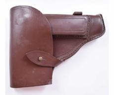 Кобура штатная для ПМ темно-коричневая, кожа, 1970-1979 гг.
