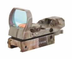Коллиматорный прицел Sightmark Sure Shot, панорамный, 4 марки, 7 ур., камуфляж, на 11 мм (SM13003C-DT)