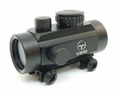 Коллиматорный прицел Target Optic 1x30, закрытый, на Weaver, красная точка