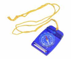 Компас ДС 35-2А, орг. стекло, шнур, термометр, черно-синий