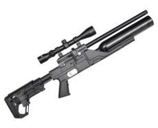 Пневматическая винтовка Kral Puncher Jumbo NP-500 скл. приклад (PCP, 3 Дж) 5,5 мм