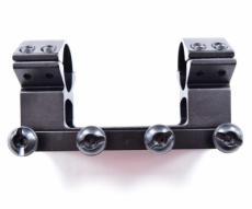 Кронштейн 25,4 мм быстросъемный монолит на Weaver, высокий, 10 см (BH-MS09)