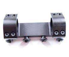 Кронштейн 25,4 мм быстросъемный монолит на Weaver, низкий, 10 см (BH-MS11)