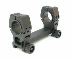 Кронштейн 25/30 мм облегченный монолит на Weaver, с уровнем (BH-MS15)