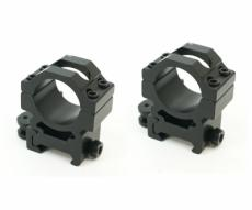 Кольца 25,4 мм быстросъемные на Weaver, средние (BH-RS42)