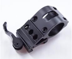 Кольцо-кронштейн боковой 25,4 мм быстросъемный на Weaver, со смещением (P24-0107)