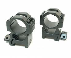 Кольца Leapers UTG 25,4 мм быстросъемные на Weaver, с винтовым зажимом, высокие, 3 винта (RG2W1206)