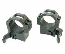 Кольца Leapers UTG 30 мм быстросъемные на 11 мм, с рычажным зажимом, средние (RQ2D3154)