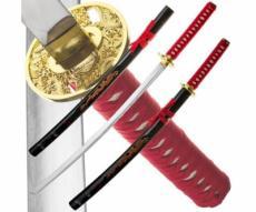 Набор из 2-х самурайских мечей Dark Age JP-608A Red Dragon