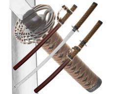 Набор из 2-х самурайских мечей Dark Age JP-613BR Tsuru