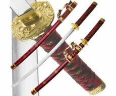 Набор из 2-х самурайских мечей Dark Age JP-616A Dragon