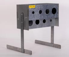 Мишень «Биатлон Лентяй» с креплением на стену, металл 3 мм
