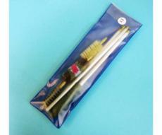 Набор для чистки Nimar в прозрачной пластиковой упаковке, калибр 12 шомпол металлический