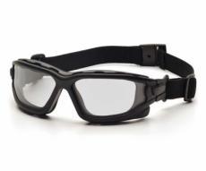 Очки тактические Pyramex I-Force Slim SB7010SDNT, узкие, прозрачные линзы (Anti-Fog)