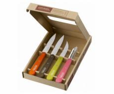 Набор кухонных ножей Opinel Les Essentiels №112/113/114/115 (4 шт.) рукоять - бук