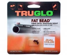 Оптоволоконная мушка Truglo G948CD FAT•BEAD 2,6 мм двухцветная, ввинчивающаяся