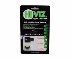 Оптоволоконная мушка HiViz DOVM-500 для карабинов с планкой 9,5 мм (3/8