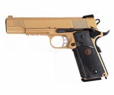 Страйкбольный пистолет WE Colt M1911A1 M.E.U. Rail Tan (WE-E008B-TAN)