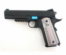 Страйкбольный пистолет WE Colt M45A1 Black (WE-E015-BK)
