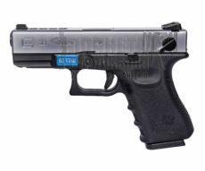 Страйкбольный пистолет WE Glock-23 Gen.3 Silver (WE-G004A-SV)