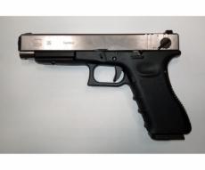 Страйкбольный пистолет WE Glock-35 Gen.3 Silver (WE-G009A-SV)