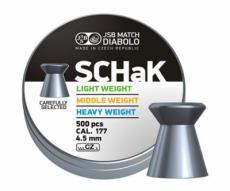 Пули JSB Diabolo SCHaK Middle 4,5 мм, 0,52 грамм, 500 штук