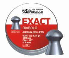 Пули JSB Exact Diabolo 4,5 мм, 0,547 грамм, 500 штук