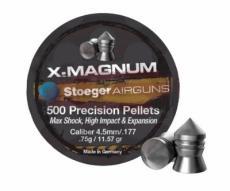 Пули Stoeger X-Magnum 4,5 мм, 0,75 грамм, 500 штук