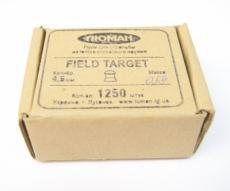 Пули Люман Field Target 4,5 мм, 0,55 грамм, 1250 штук
