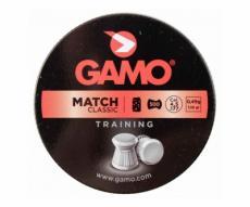 Пули Gamo Match 4,5 мм, 0,49 грамм, 500 штук