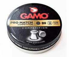Пули Gamo Pro Match 4,5 мм, 0,49 грамм, 500 штук