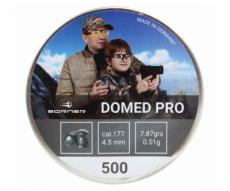 Пули Borner Domed Pro 4,5 мм, 0,51 грамм, 500 штук