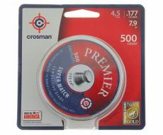 Пули Crosman Premier Super Match 4,5 мм, 0,51 грамм, 500 штук