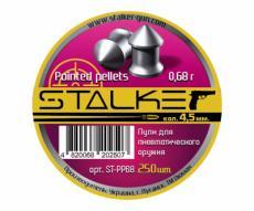 Пули Stalker Pointed Pellets 4,5 мм, 0,68 грамм, 250 штук
