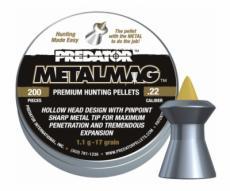 Пули JSB Predator Metalmag 5,5 мм, 1,1 грамма, 200 штук