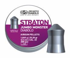 Пули JSB Straton Jumbo Monster Diabolo 5,5 мм, 1,645 грамм, 200 штук