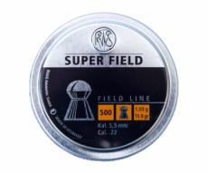 Пули RWS Super Field 5,5 мм, 1,03 грамм, 500 штук