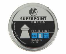 Пули RWS Superpoint Extra 5,5 мм, 0,94 грамм, 500 штук