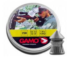 Пули Gamo Magnum 5,5 мм, 1 грамм, 250 штук