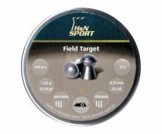 Пули H&N Field Target 6,35 мм, 1,58 грамм, 200 штук