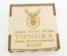 Пули полнотелые Tundra Bullet 6,35 мм (6.42) 3,5 грамм, 100 штук