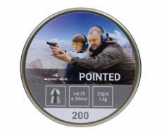 Пули Borner Pointed 6,35 мм, 1,4 грамм, 200 штук