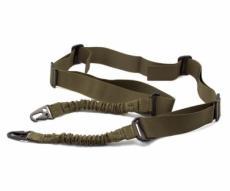 Ремень оружейный Стикхант тактический 2-точечный с амортизаторами (хаки)