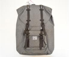Рюкзак Herschel Little America Backpack 17L, серый с каучуковыми пряжками