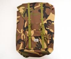 Рюкзак Herschel Little America Backpack 23.5L, камуфляж с каучук. пряжками