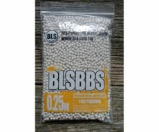 Шары для страйкбола BLS 0,25 г, 4000 штук (1 кг, белые) 1KG-H25