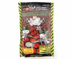 Шары для страйкбола Angry BBs 0,40 г, 2500 штук (1 кг, белые)