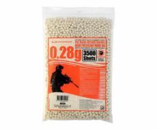 Шары для страйкбола Guarder BBs 0,28 г, 3500 штук, BB-28(BAG)